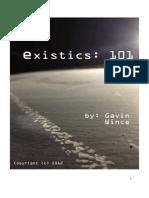 Existics101, 01-13-2012