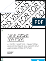 NEW VISIONS FOR FOOD / THE FUTURE OF FOOD