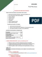 Orientaciones - trabajo sobre países hispánicos  II UNIDAD