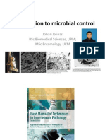 Introduction to Microbial Control