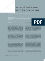 01_Transformation of the European Auto Industry the Future of Lean (Opinion)