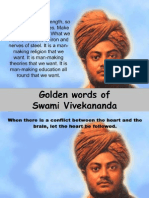 Golden Words of Swami Vivekananda