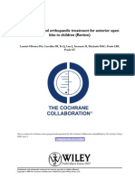 Ant Openbite Review Cochrane