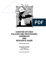 Commercial Kitchen Manual