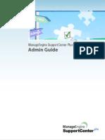 Admin Support Center