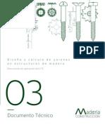 Calculo Uniones Madera PDF