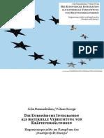 John Kannankulam und Fabian Georgi - Die Europaische Integration als materielle Verdichtung von Krafteverhaltnissen