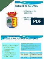 HORARIOS Y PARTIDOS DE  LOS EQUIPOS DE NUESTRA LOCALIDAD