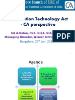 IT Act for ICAI Bangalore25-Jan 2012