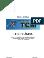 Lei Orgânica do TCM