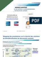 Mapping de prestataires - Dématérialisation de documents sortants - 2011- MARKESS International