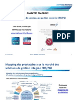 Mapping de prestataires - Solutions de gestion intégrée ERP/PGI - MARKESS International 2011