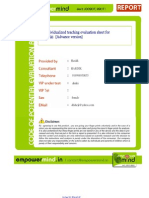 Individualized Teaching_Full Report