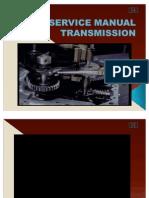 Service Manual Transmission