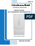 Whirlpool KAR-16 French Door Bottom Mount Refrigerator Service Manual