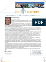Academy of LDS Dentists Newsletter Winter 2012