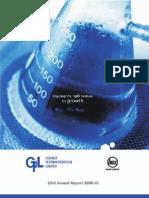 GFL Annual Report 2009-10