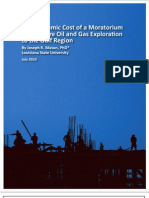 Mason-Economic Cost of Offshore Moratorium[1]