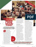 Robots need love too! - Women's Running column October 2011