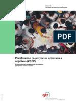 Planificación de proyectos orientada a objetivos (ZOPP) GTZ_ZOPP