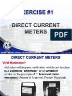 Lab Exercise DC Meters
