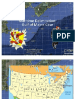 Marine Delimitation (Gulf of Maine) - Presentation