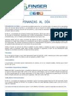 Finanzas al Día 03.02.12
