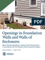 FEMA Hydro Static Relief Info.