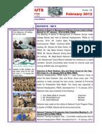 Newsletter Feburary 2012