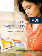 School Examinations Booklet Dec 10-2