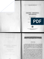 IlieCleopaDespreCredintaOrtodoxa Text