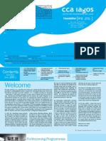 CCA,Lagos Newsletter n°11 (@version)