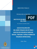 GUIA DE VALORACIÓN DEL DAÑO PSÍQUICO