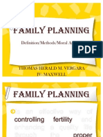 Mapeh IV- Family Planning