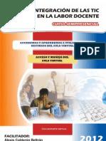 Manual Manejo y Usos Del Aula Virtual