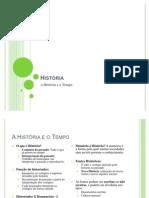 A História e o tempo