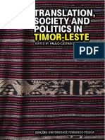 Translation, Society & Politics in Timor-Leste