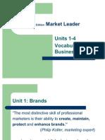 Market Leader Vocabulary