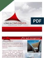 Presentación de Lonas y Complementos 2