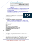 Iso 13485 & 21 Cfr 820 Template Documentation Operational Procedure Qop 42 01 Control of Documents