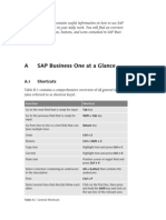 Sap Business One at a Glance