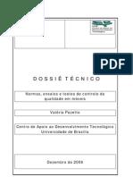 Dossiê - Normas, Ensaios e Testes de controle da qualidade em móveis - Valéria Pazetto
