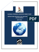 Global Funding Agencies Directory