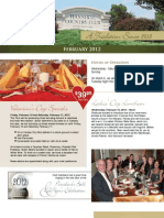 Hannibal Country Club February Newsletter