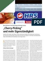 """""""Cherry-Picking"""" und mehr Eigenständigkeit, Kolumne von Marco Nussbaum in Hotel&Technik 1/12"""
