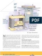 Planer and Jointer Article