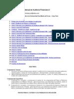 Manual Auditoria Financier A II