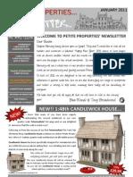 Petite Properties JANUARY 2011
