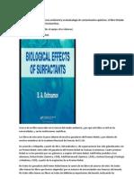 Useful Book. Annotation in Spanish,Libro muy útil sobre la ciencia ambiental y ecotoxicología de contaminantes químicos