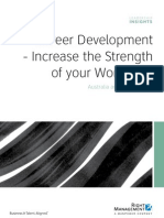 Career Development Increase the Strength of Your Workforce